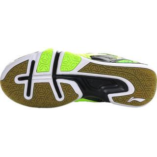 LI-NING 李宁 AYTL067 男士羽毛球鞋 防滑训练鞋 荧光亮绿 41.5码