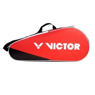 威克多 Victor 胜利羽毛球拍包 12支装团队型 四层网羽通用拍包  BR5203D (红色)