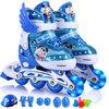 Disney 迪士尼 儿童溜冰鞋套装 (蓝色米奇款、M码)