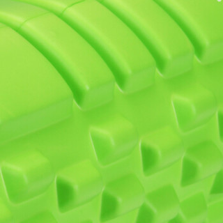 凯速普拉提瑜伽柱瑜伽筒空心泡沫轴肌肉按摩狼牙棍外齿形绿色