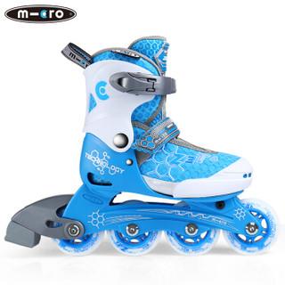 m-cro 米高 ZETA 儿童轮滑鞋 (蓝色单鞋、S码)