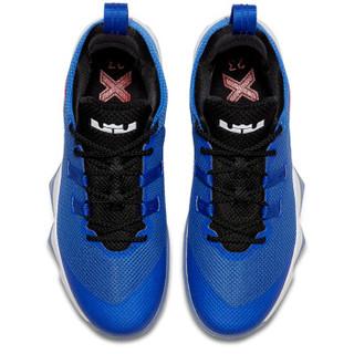 NIKE 耐克 AH7580-401 AMBASSADOR X 男子勒布朗气垫篮球鞋 赛车蓝色 43码