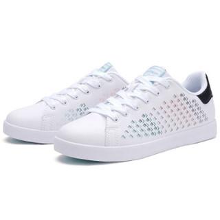XTEP 特步 982118319017 女士板鞋 白色 39码