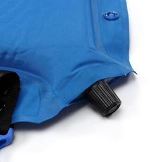 牧高笛 防潮野餐垫自动充气野炊地垫单人拼接郊游草坪垫 EXL1634002 天使蓝(单人)