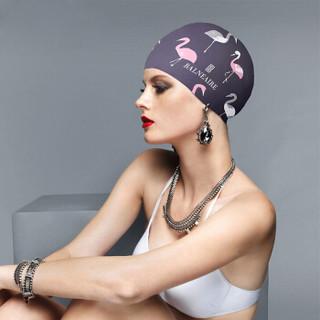 BALNEAIRE 范德安 YM014 时尚防水护耳游泳帽 淡粉色