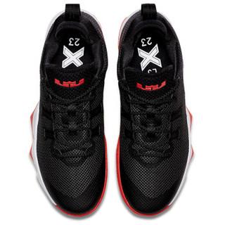 NIKE 耐克 AH7580-003 AMBASSADOR X 男子勒布朗气垫篮球鞋 黑色 42.5码