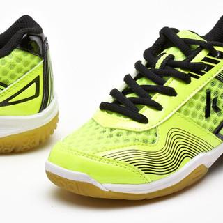 KAWASAKI 川崎 KC-12 儿童羽毛球鞋 (荧光绿、33)
