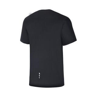 361° 361度 651822103 男子短袖T恤 (基础黑 S)