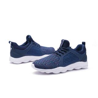 XTEP 特步 982119119095 男士网面慢跑鞋 兰 42码