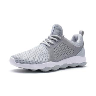 XTEP 特步 982119119095 男士网面慢跑鞋 浅灰 40码