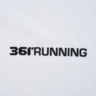 361° 361度 651822103 男子短袖T恤(本白 S)