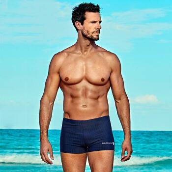 BALNEAIRE 范德安 50165 男士平角运动泳裤
