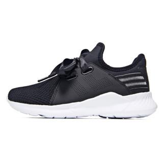 361° 361度 681822211-4 女士防滑跑步鞋 (38、乌黑色/361度白)