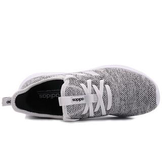 adidas 阿迪达斯 NEO CLOUDFOAM PURE DB0695 女子休闲鞋 白/白/一号黑 37
