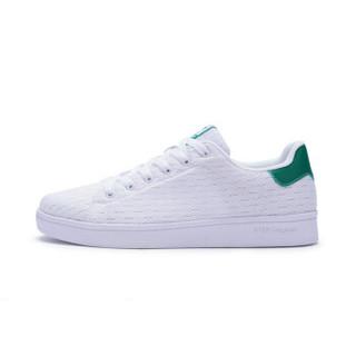 XTEP 特步 982119319985 男士板鞋 白绿 43码