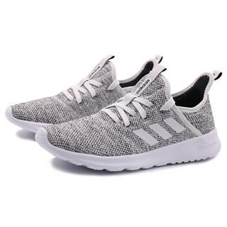 adidas 阿迪达斯 NEO CLOUDFOAM PURE DB0695 女子休闲鞋 白/白/一号黑 37.5