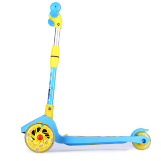 Disney 迪士尼 儿童可储物式滑板车 (浅蓝色米奇)