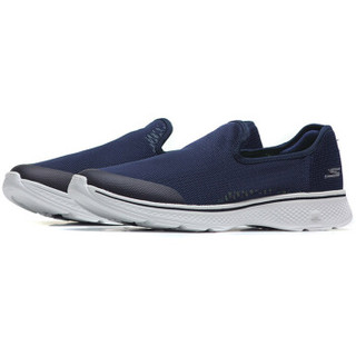 SKECHERS 斯凯奇 54159/B KW 男士健步鞋 海军蓝色 42.5