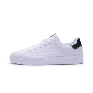 XTEP 特步 982118319985 女士板鞋 白黑 35码