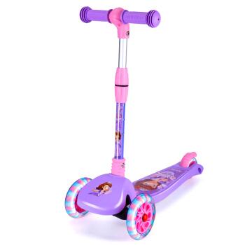 Disney 迪士尼 儿童可储物式滑板车