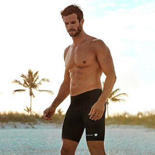 BALNEAIRE 范德安 50162 男五分平角游泳裤 黑色 XL