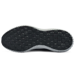 adidas 阿迪达斯 BY4264 alphabounce em m 男子跑步鞋 (42.5、黑白)