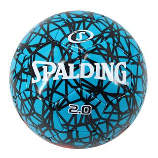 斯伯丁SPALDING 5号比赛足球光面机缝球64-952Y 红/青