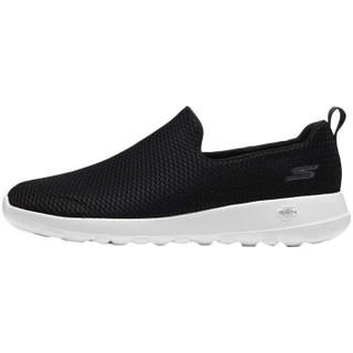 SKECHERS 斯凯奇 54600/BKW 男士健步鞋 黑色/白色 39.5