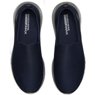 SKECHERS 斯凯奇 54600/NVGY 男士健步鞋 蓝色/灰色 39.5