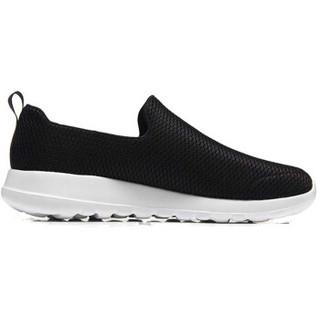 SKECHERS 斯凯奇 54600/BKW 男士健步鞋 黑色/白色 41