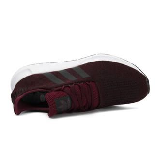 adidas 阿迪达斯 SWIFT RUN CQ2118 男子经典鞋 暗红色 43.5