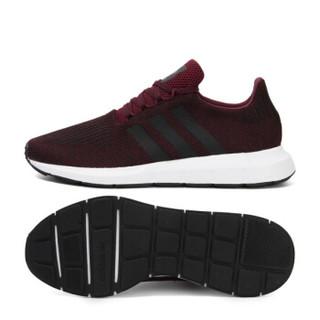 adidas 阿迪达斯 SWIFT RUN CQ2118 男子经典鞋 暗红色 43