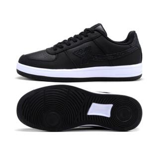XTEP 特步 984118315185 女士板鞋 黑 40码