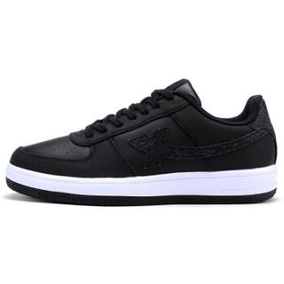 XTEP 特步 984118315185 女士板鞋 黑 38码