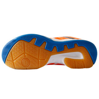 LI-NING 李宁 AYTM058-1 女士羽毛球鞋 训练鞋 荧光耀橙/艳蓝/白 37