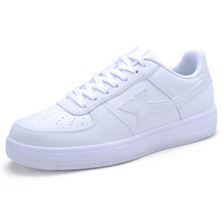 XTEP 特步 984118315185 女士板鞋 白色 40码