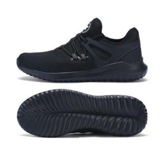 XTEP 特步 982119329119 男士休闲运动鞋 黑 44码