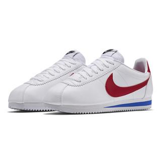 NIKE 耐克 CORTEZLEATHER系列 女子休闲运动鞋 807471-103 白色 38