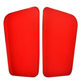 LI-NING 李宁 AXWL001-1 足球护腿板 (红、S码)