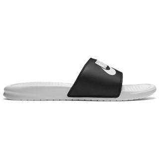 NIKE 耐克 818736-011 BENASSI JDI MISMATCH 男子一字拖鞋  黑色 42.5码