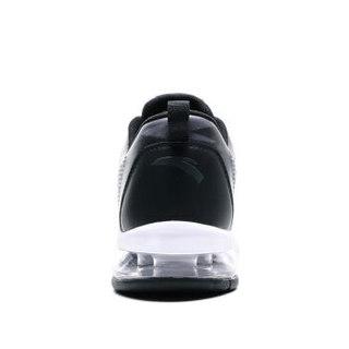 ANTA 安踏 91715530 男士大半掌气垫跑鞋 城堡灰/黑 42.5