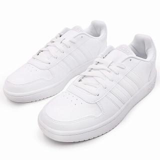 adidas 阿迪达斯 NEO HOOPS 2.0 DB1085 男子休闲鞋 白/白/一度灰 43