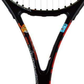 HEAD海德网球拍 Spark MX Tour碳素拍 男女通用 黑红 穿好线 送训练球、吸汗带、避震器、拍包