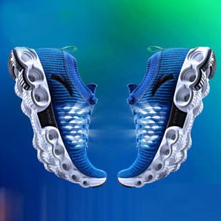 ANTA 安踏 11725588 A-WEB 男士呼吸网能量环跑鞋 艳蓝/相片蓝-3 44.5