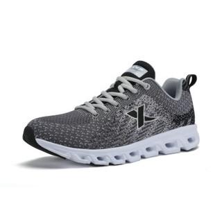 XTEP 特步 983219119188 男士跑步鞋 灰黑 41码