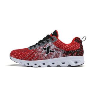 XTEP 特步 983219119188 男士跑步鞋 红黑 41码
