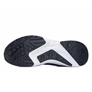 361° 361度 671812230-4 男士复古跑步鞋 (41、乌黑色/361度白)