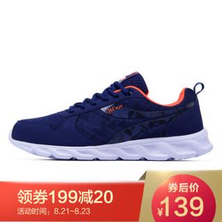 361° 361度 571712228-4 男士跑步鞋 (42、爱国蓝/萤光橙黄)