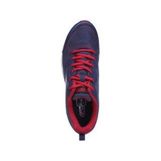 ANTA 安踏 91615507-4 男士易弯折科技跑步鞋 深藏青/大红/安踏白 40