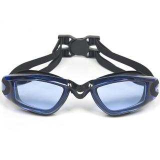 LI-NING 李宁 617-874 男女士游泳眼镜泳帽套装 蓝色 平光